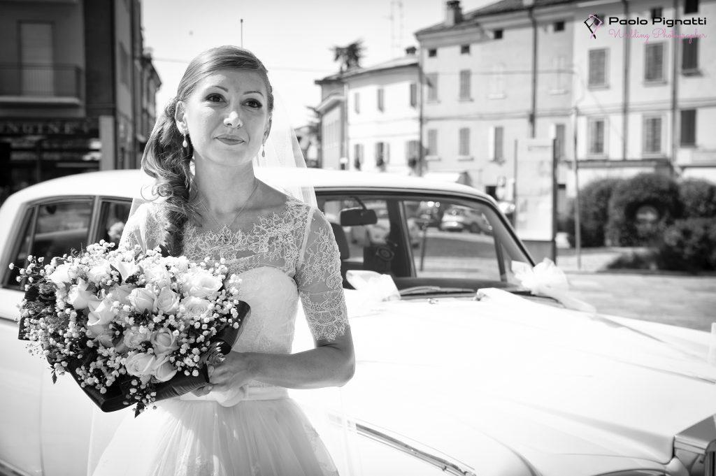 Sposa Bride ingresso Chiesa