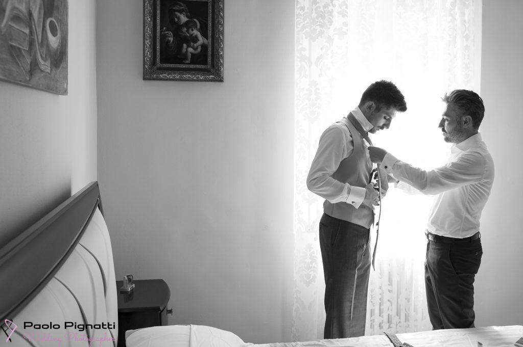 Sposo Groom Vestizione