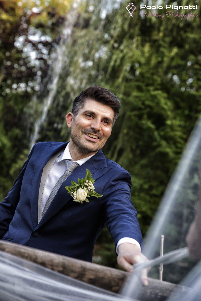 Sposo wedding sorriso