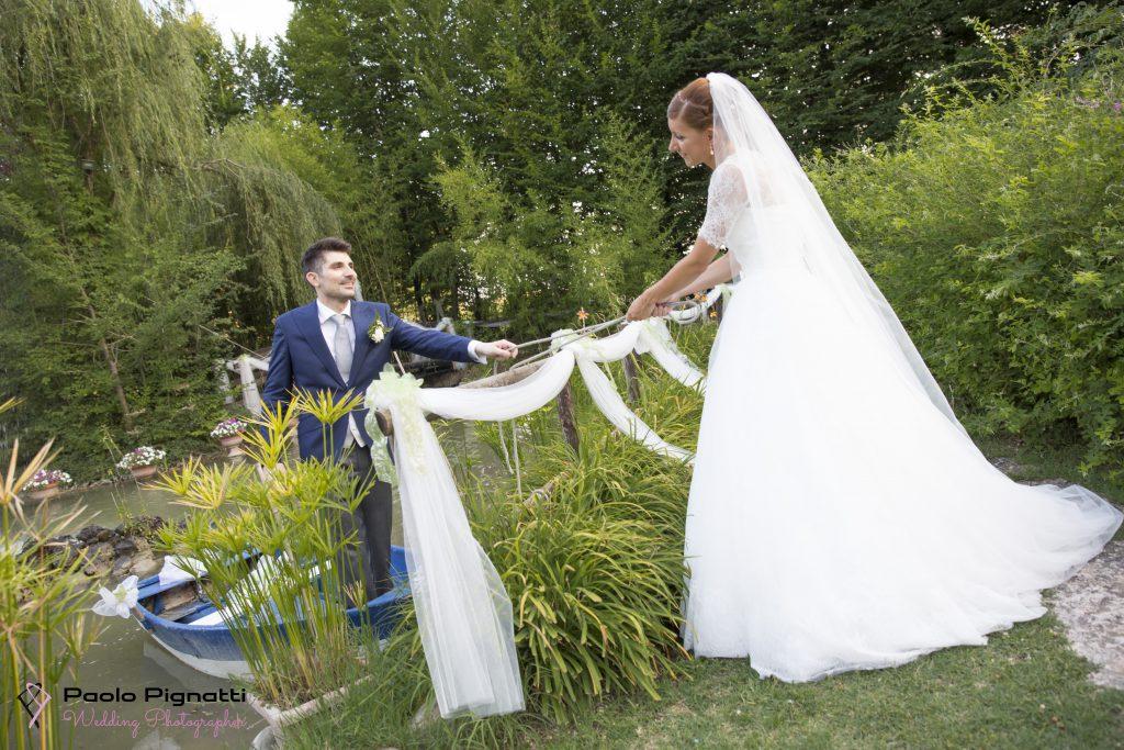 Wedding Sposi Barca