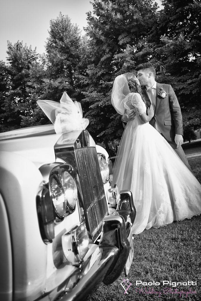 Wedding Sposi Rolls Royce
