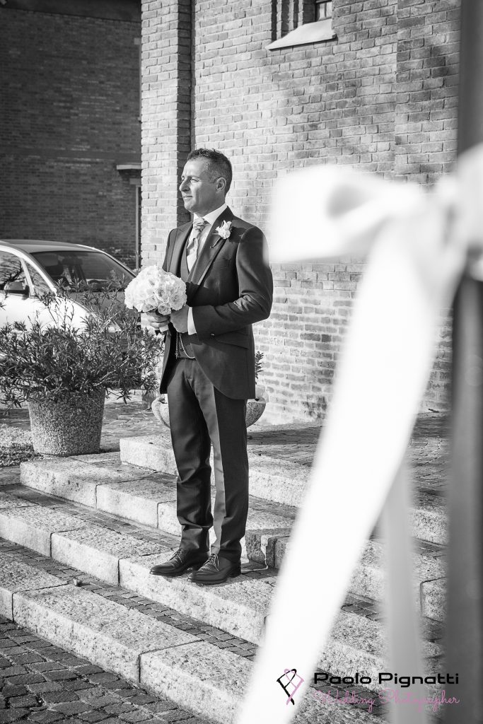 Sposo Groome attesa Chiesa