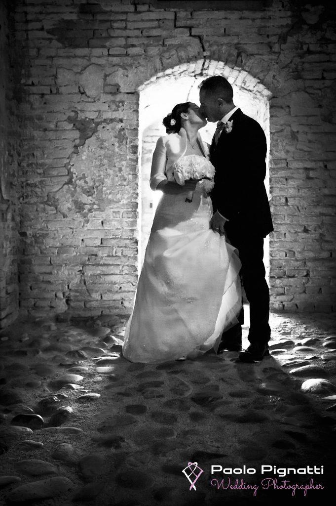 Wedding Sposi Castello controluce