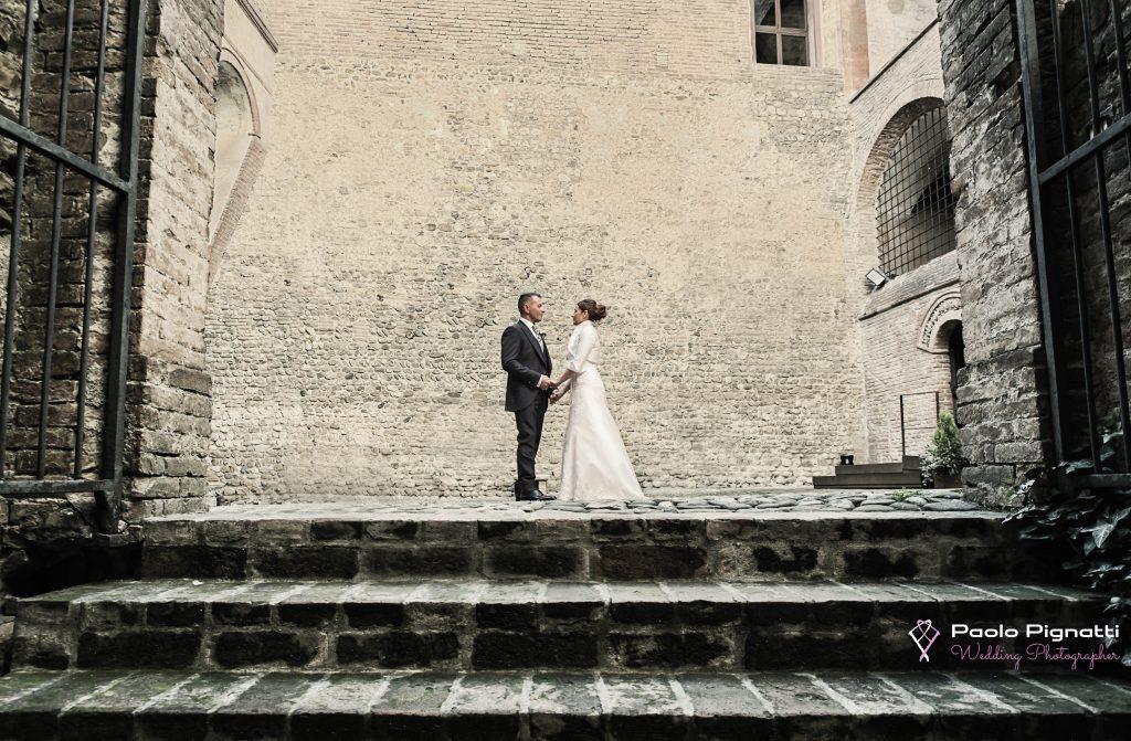 Wedding Sposi Cortile Castello