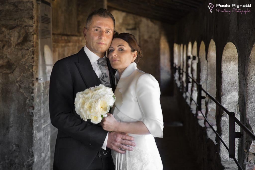Wedding Sposi finestre Castello