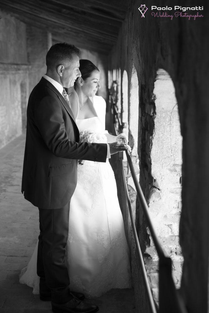 Wedding Sposi finestre Castello 2