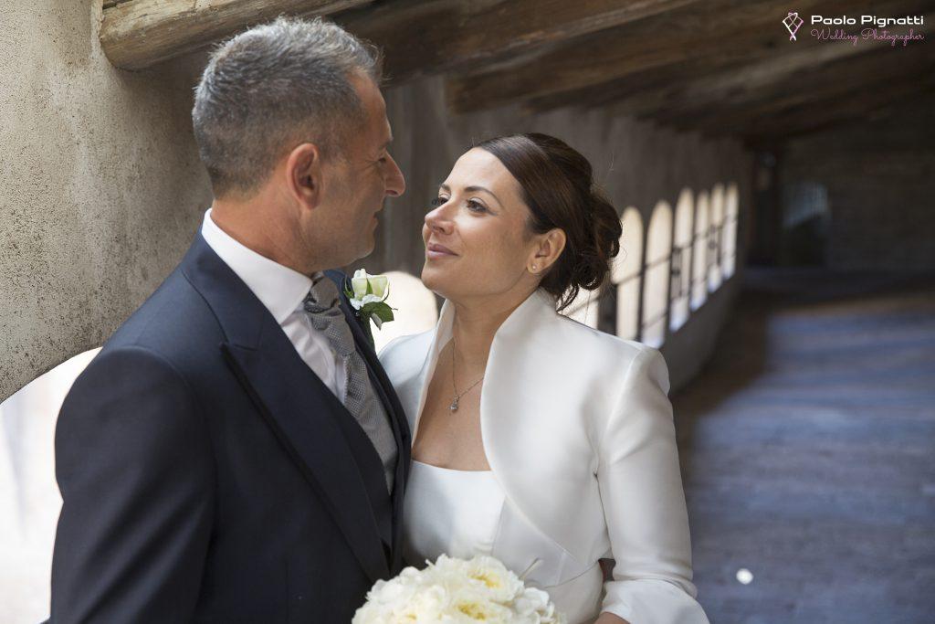 Wedding Sposi finestre Castello 3