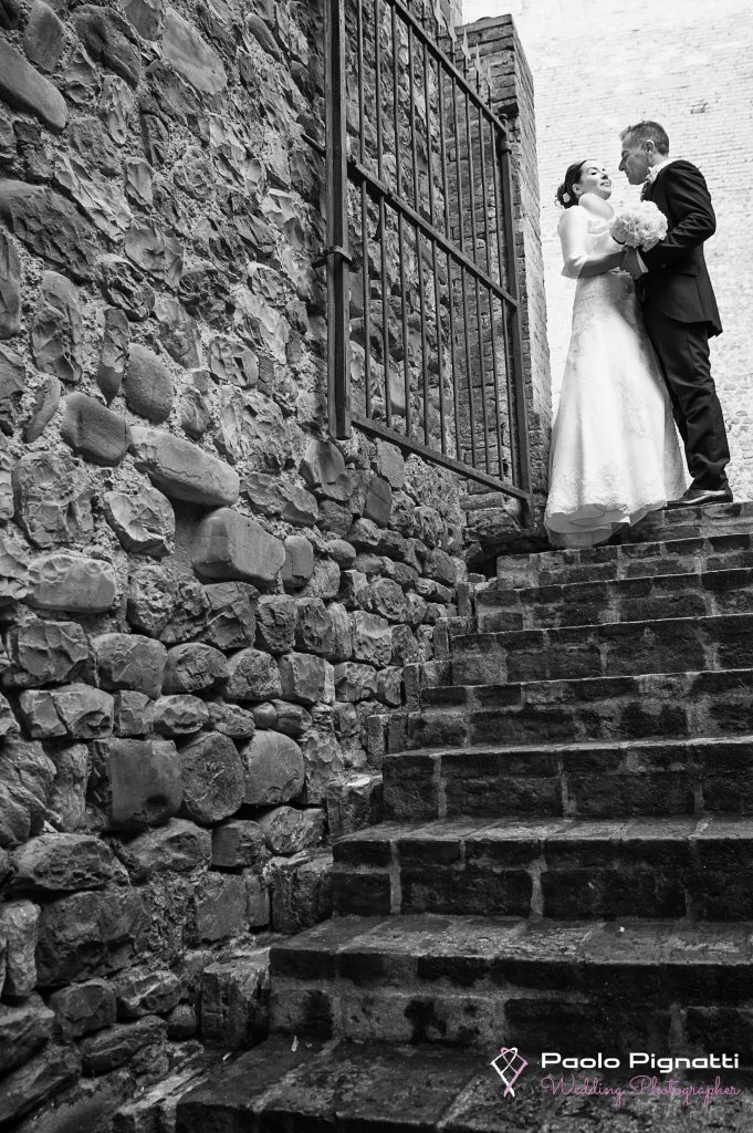 Wedding Sposi Scalinata